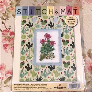 Design Works Cactus Cross Stitch Kit
